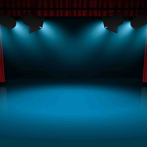 Stage-Spotlights-Background